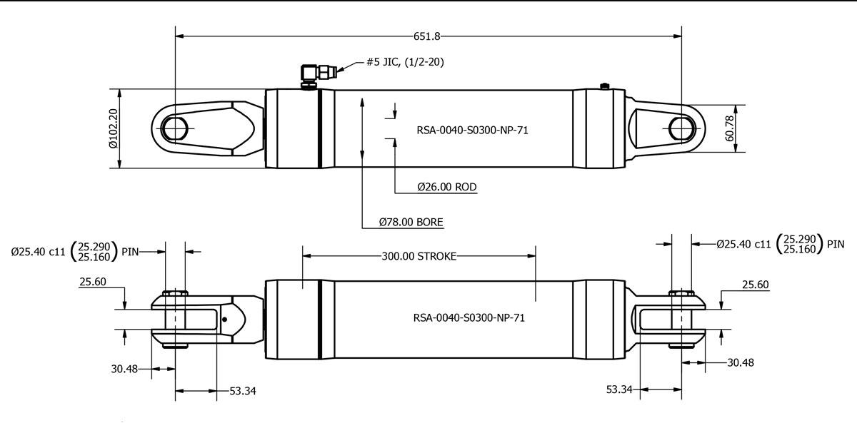 RSA-0040-S0300-NP-71