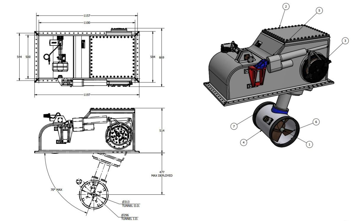 OYS E-0300-S Thruster