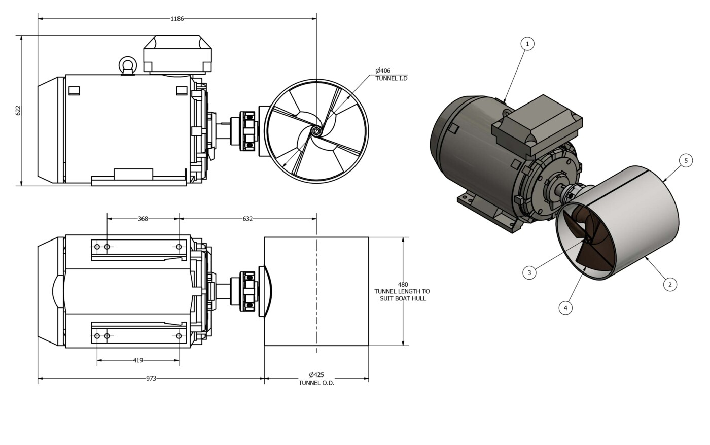 OMS-electric-Tunnel-thruster-e-0400-T