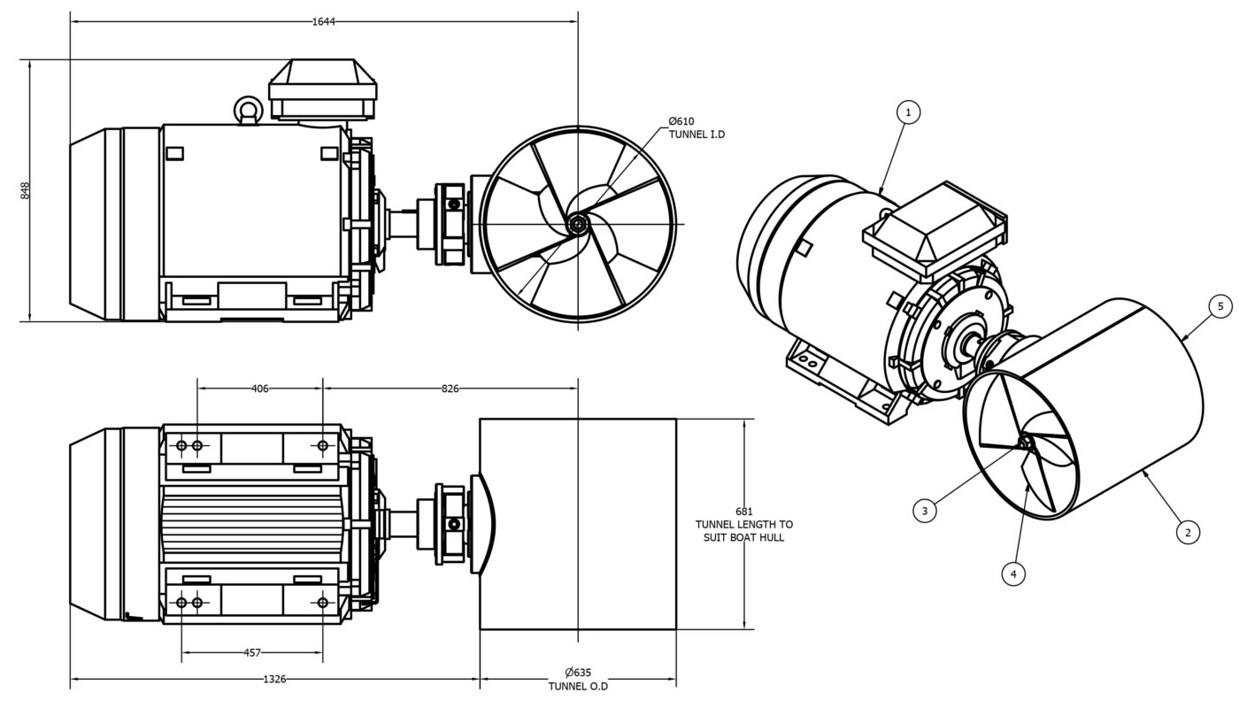 OMS-Electric-tunnel-thruster-e-0600-t