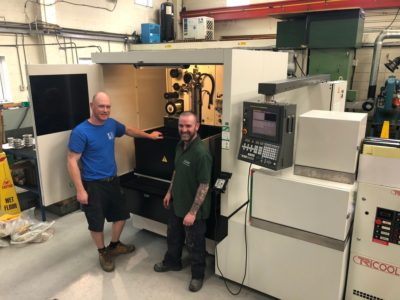 OYS take delivery of new Fanuc EDM Machine