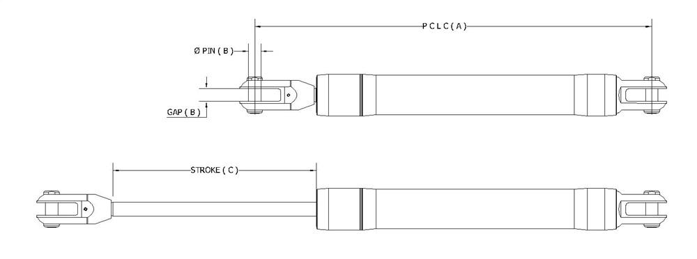 Ram Single Acting Aluminium (RSA) /