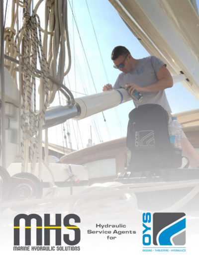 MHS hydraulic service agents for OYS in Palma