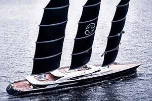 Superyacht Black Pearl