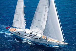 Superyacht Spirit of the C's